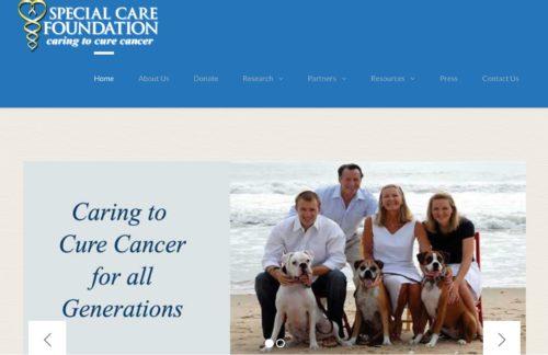 獣医がん専門医オグルビー設立財団のホームページ